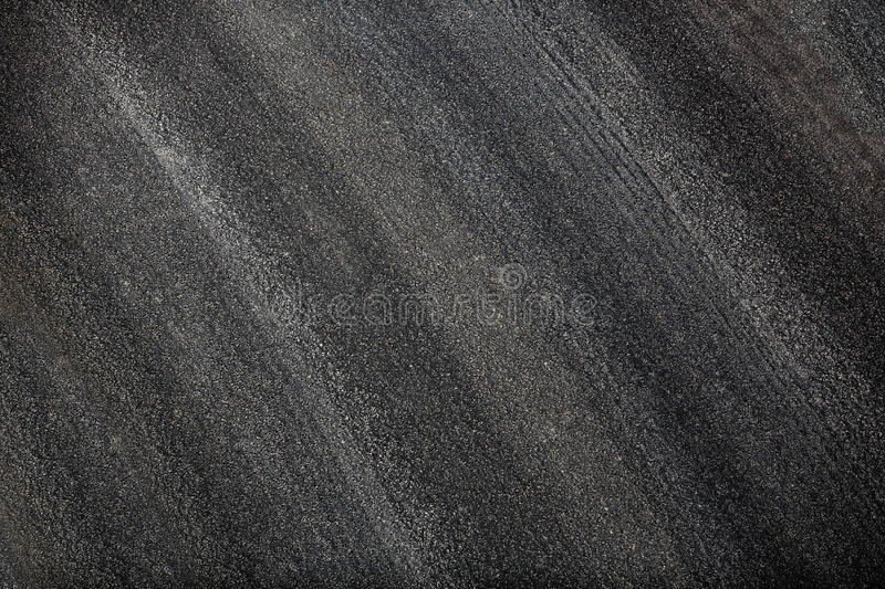 Asphalt road texture. Black and good quality road. royalty free stock images