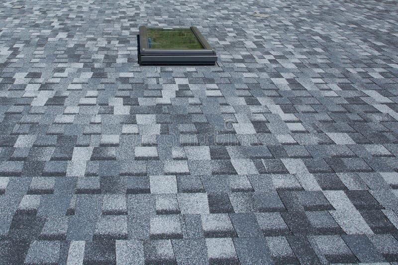 Asphalt Roofing Shingles Background novo fotografia de stock