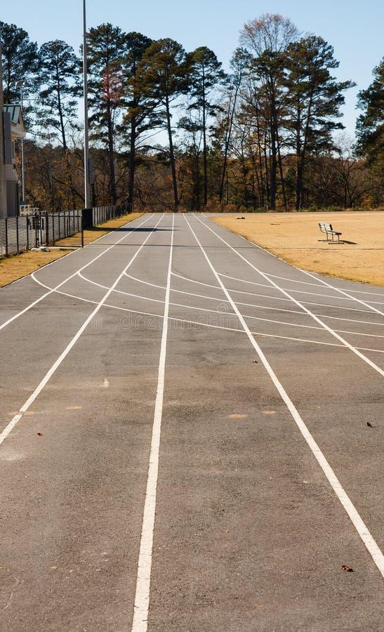 Download Asphalt Running Track Straight Away Stock Images - Image: 28795764