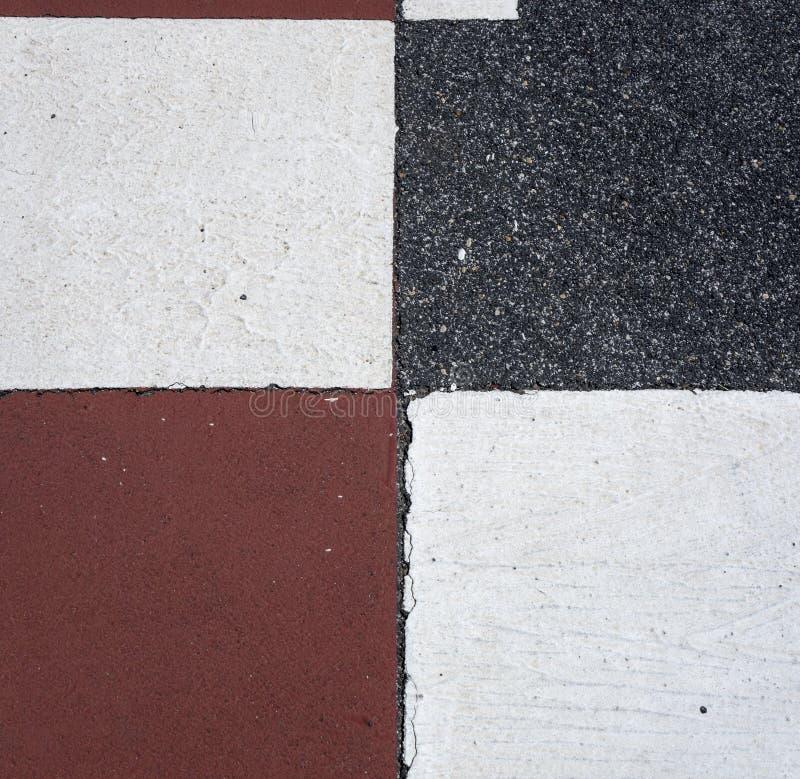 Asphalt - Square Texture Pattern stock photography