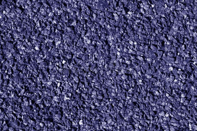 Asphalt texture in blue tone. Abstract background and texture for design royalty free stock images