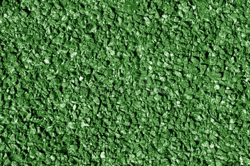Asphalt texture in green tone. Abstract background and texture for design royalty free stock photo
