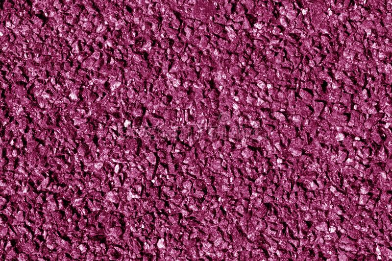 Asphalt texture in pink tone. Abstract background and texture for design royalty free stock image