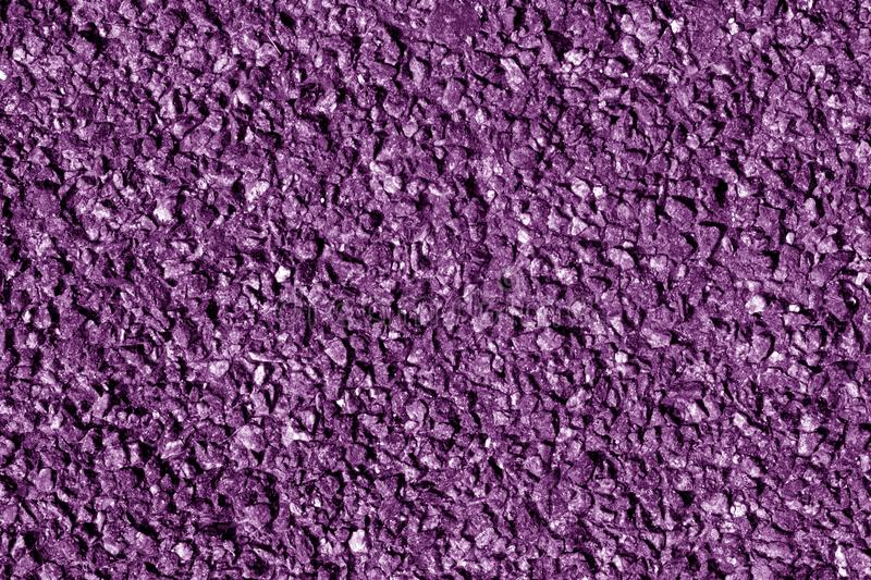 Asphalt texture in purple tone. Abstract background and texture for design royalty free stock photo
