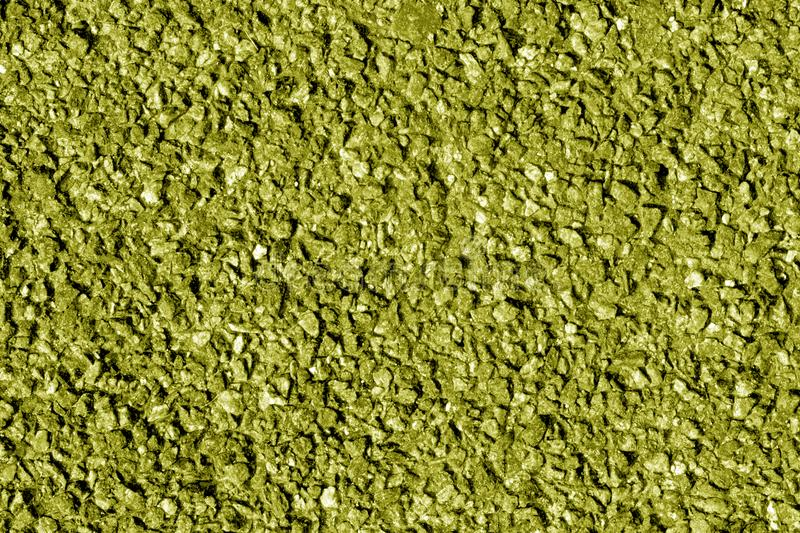 Asphalt texture in yellow tone. Abstract background and texture for design stock images