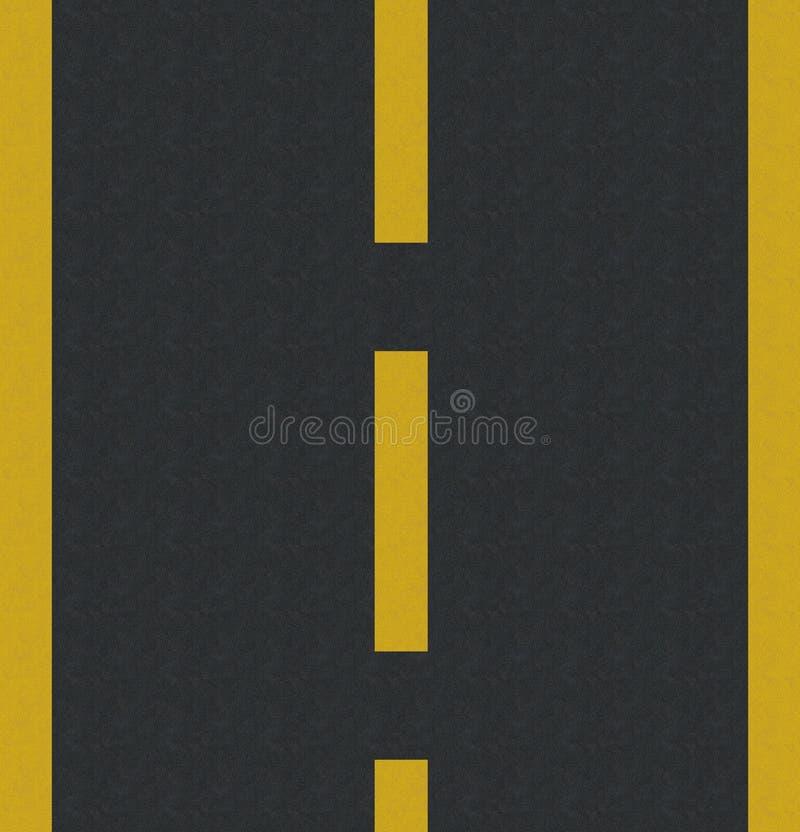 Asphalte illustration stock