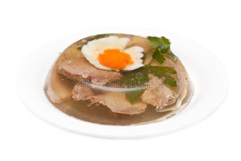 aspic κρέας στοκ εικόνες με δικαίωμα ελεύθερης χρήσης