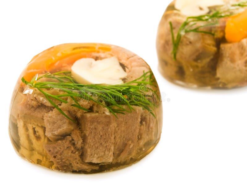 aspic κρέας στοκ εικόνα με δικαίωμα ελεύθερης χρήσης
