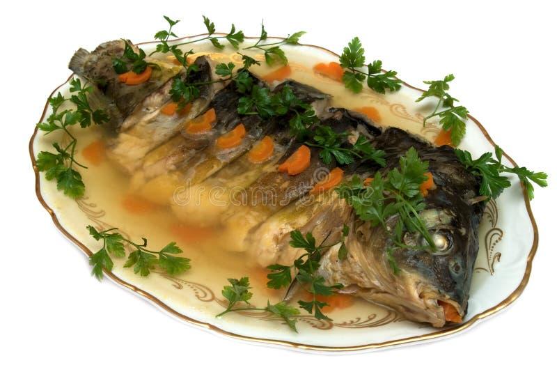aspic ψάρια στοκ φωτογραφία