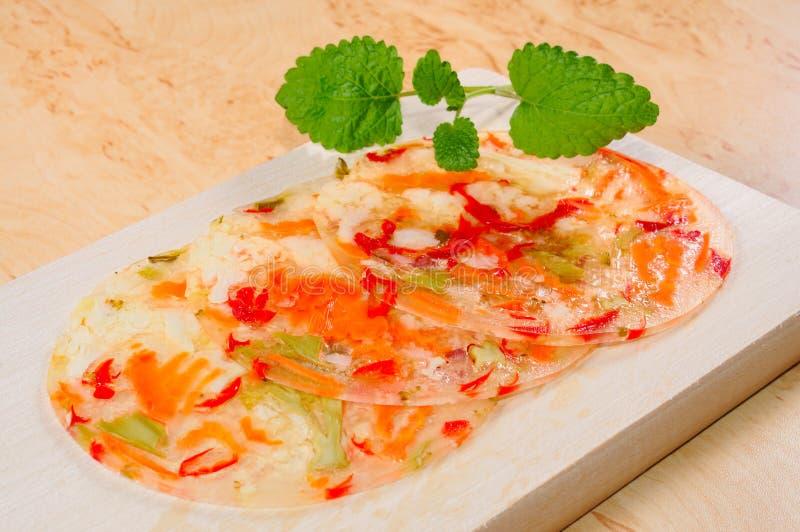 Download Aspic стоковое изображение. изображение насчитывающей овощи - 18376227