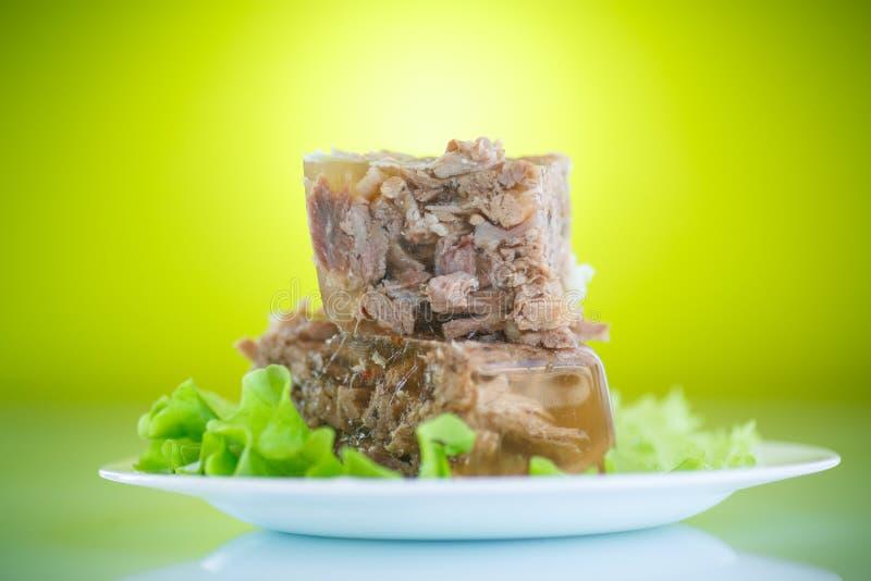 Aspic de viande images libres de droits