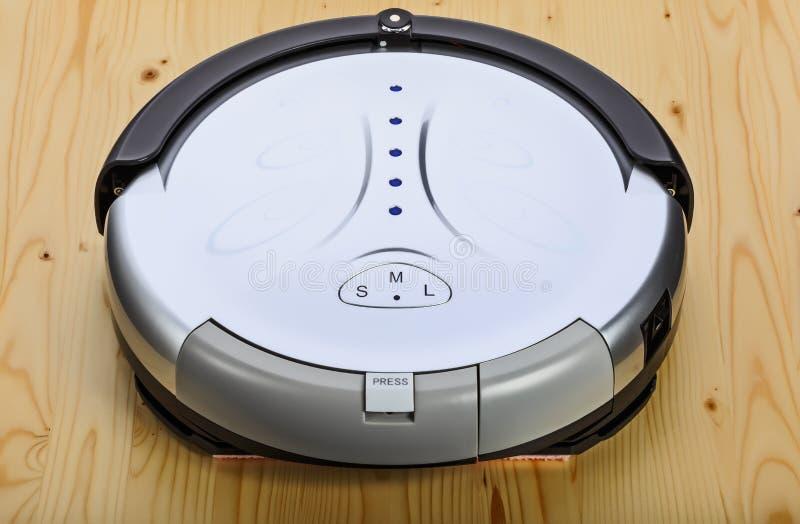 Aspirador del robot (3 cuartos superiores) fotografía de archivo
