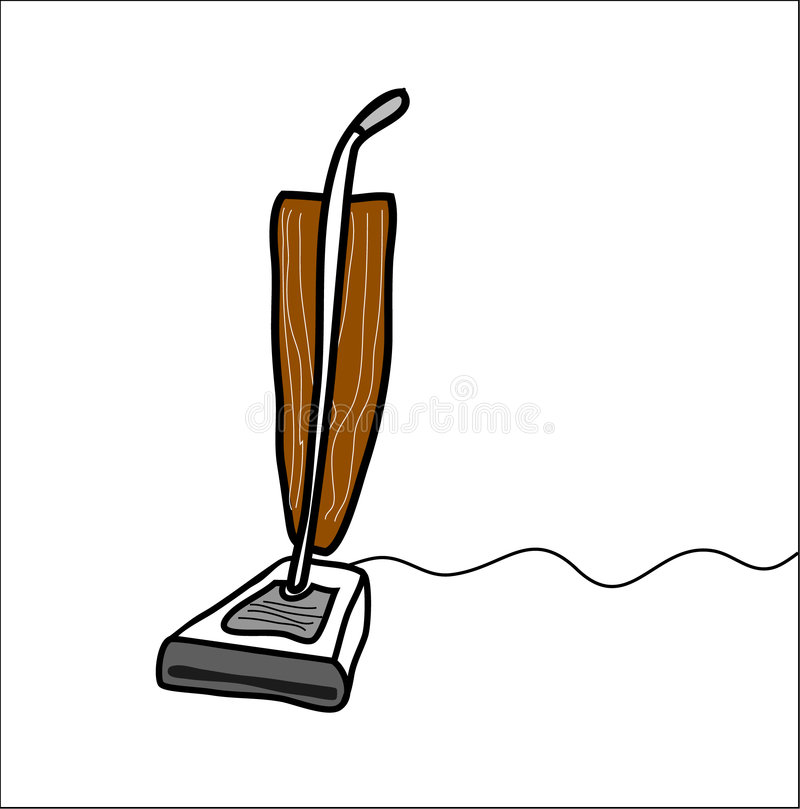 Aspirateur illustration stock
