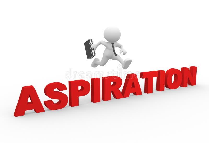 Aspiration lizenzfreie abbildung