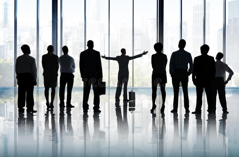 Aspiration Goal Leadership Planning Vision Mission Concept stock photo