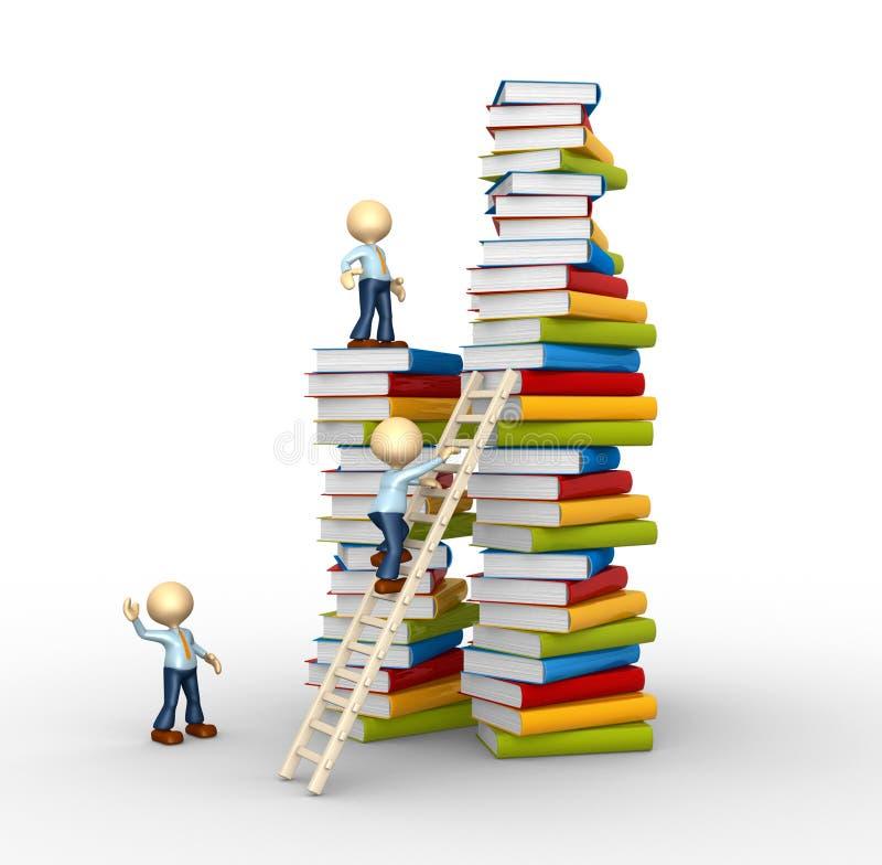 Aspirazione a conoscenza! illustrazione di stock