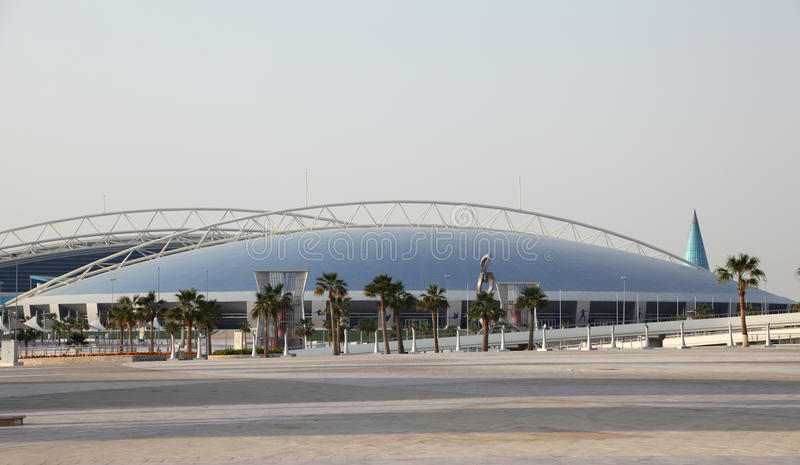 Aspire Dome and Academy, Doha stock photo