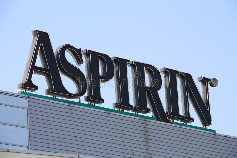 Aspirin Editorial Photo