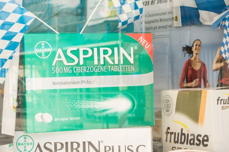 aspirin fotos de archivo