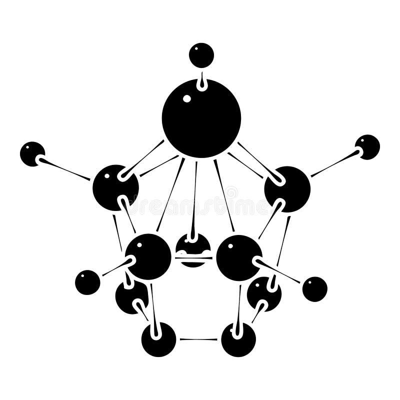 Aspirin-Ikone, einfache Art lizenzfreie abbildung