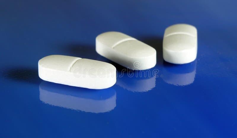 Aspirin-Reflexionen Stockbild