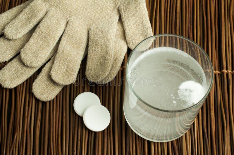 Aspirin Soluble Dans L Eau Photographie stock libre de droits