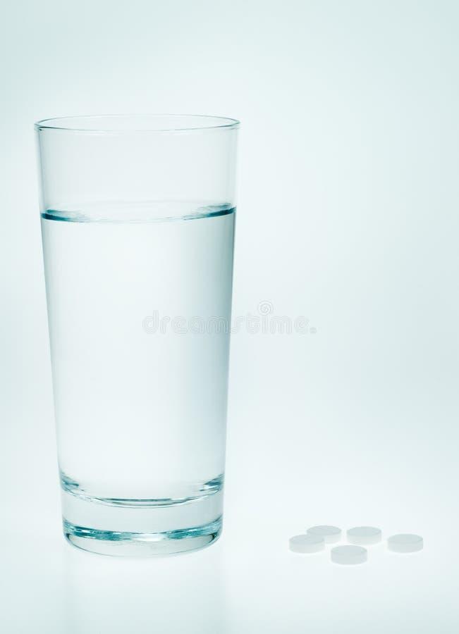 Aspirin and water