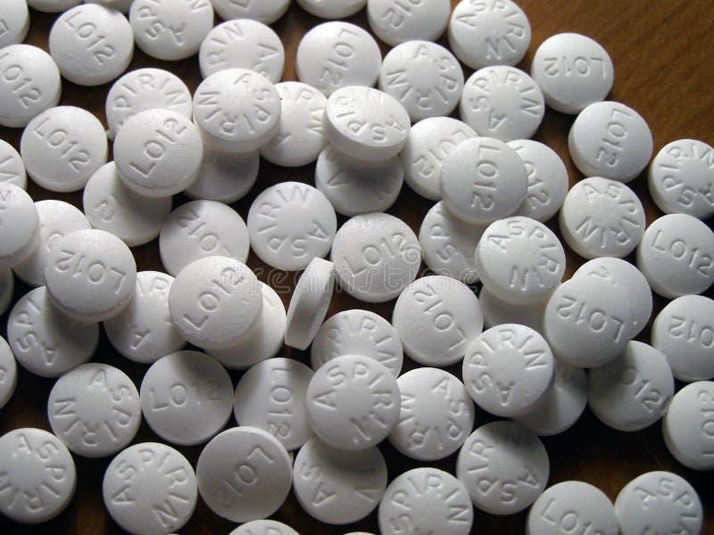Aspirina fotografía de archivo libre de regalías