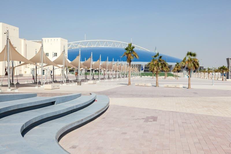 Aspirującej strefa w Doha, Katar obraz stock