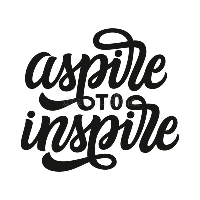 Aspiruje inspirowa? r ilustracji