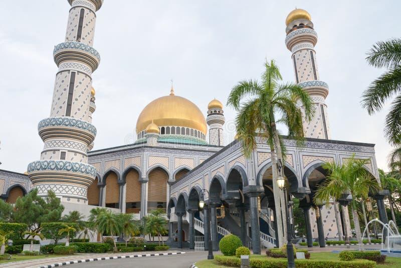 Asr Jame μουσουλμανικό τέμενος στο Μπρουνέι στοκ εικόνα