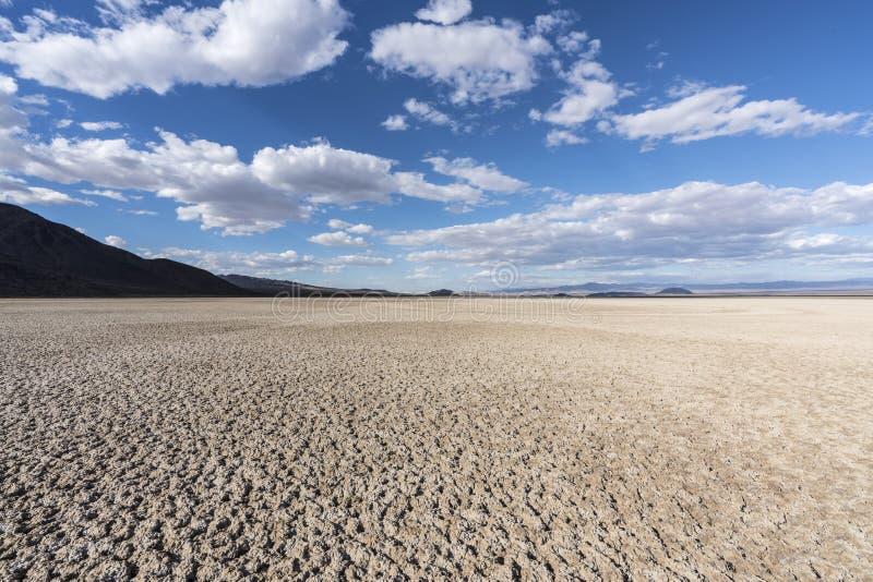 Assèche preserve nationale de Mojave près de Zzyzx la Californie images libres de droits