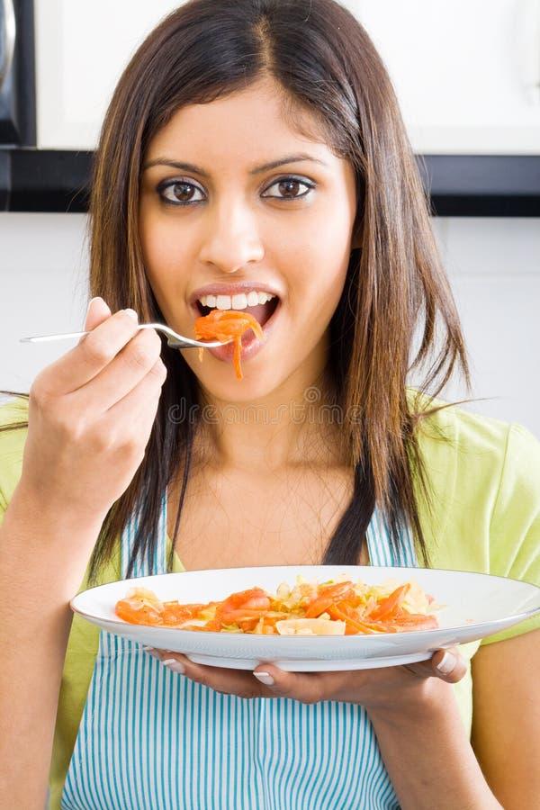 assaggio dell'alimento immagine stock libera da diritti