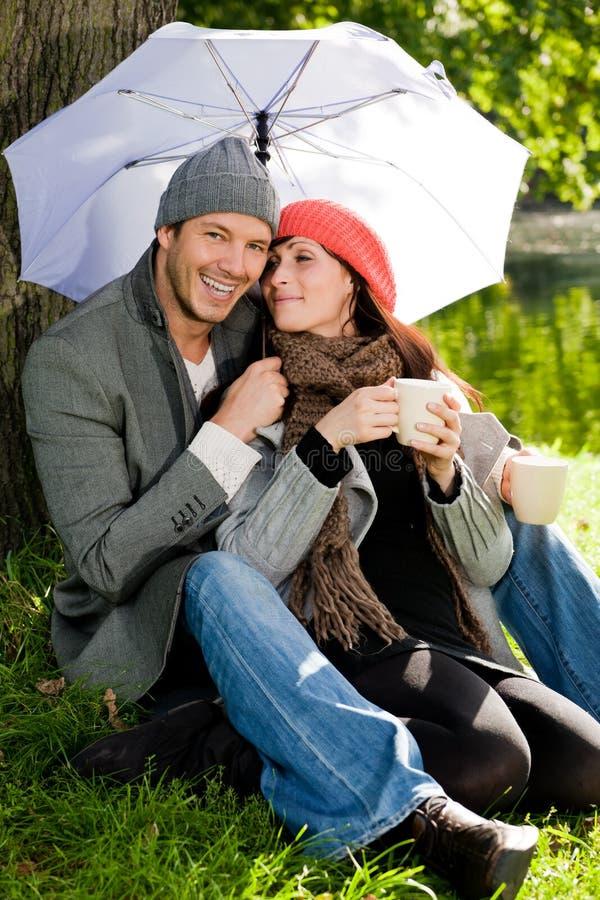 Assaisonnez les couples photographie stock