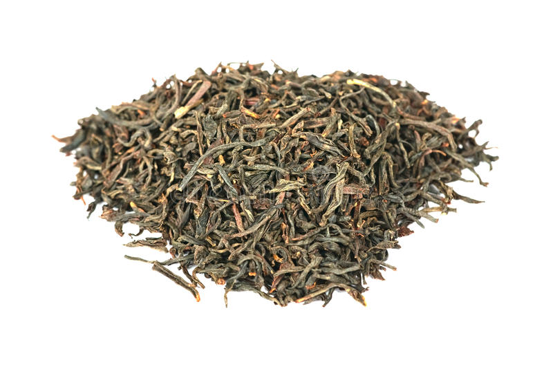 Assam, chá do Indian do preto imagem de stock