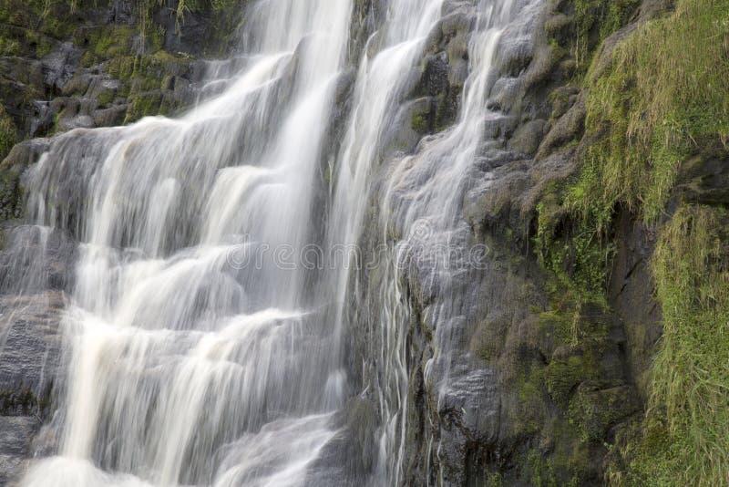 Assaranca vattenfall, Ardara, Donegal, Irland royaltyfri bild