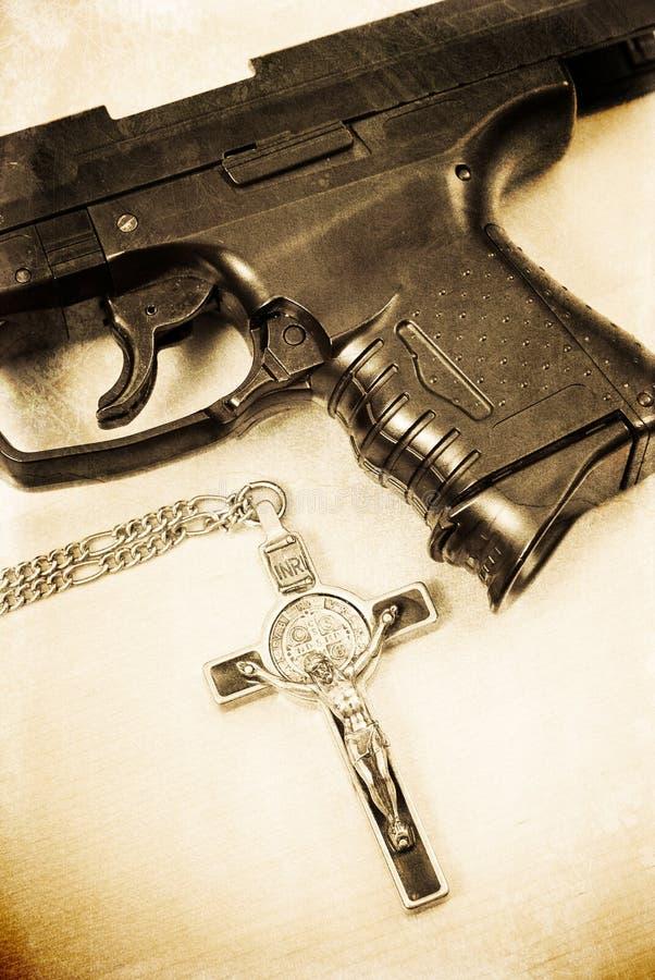 Download The Assassin stock photo. Image of belief, handgun, killer - 20688696