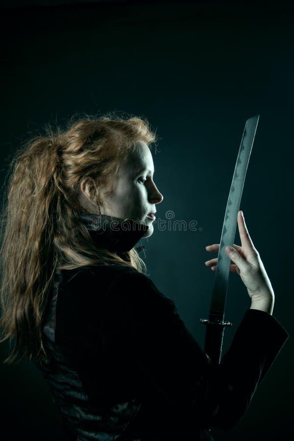 Assassin stock photo