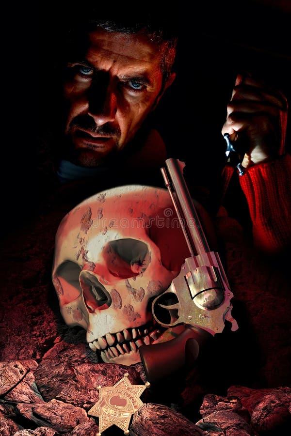 Assassin en série illustration stock