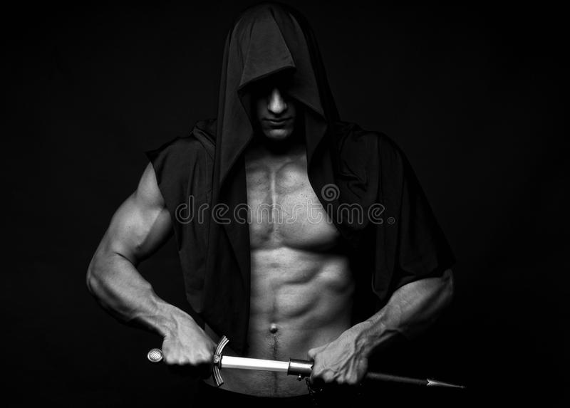 Assassin greed royalty free stock image