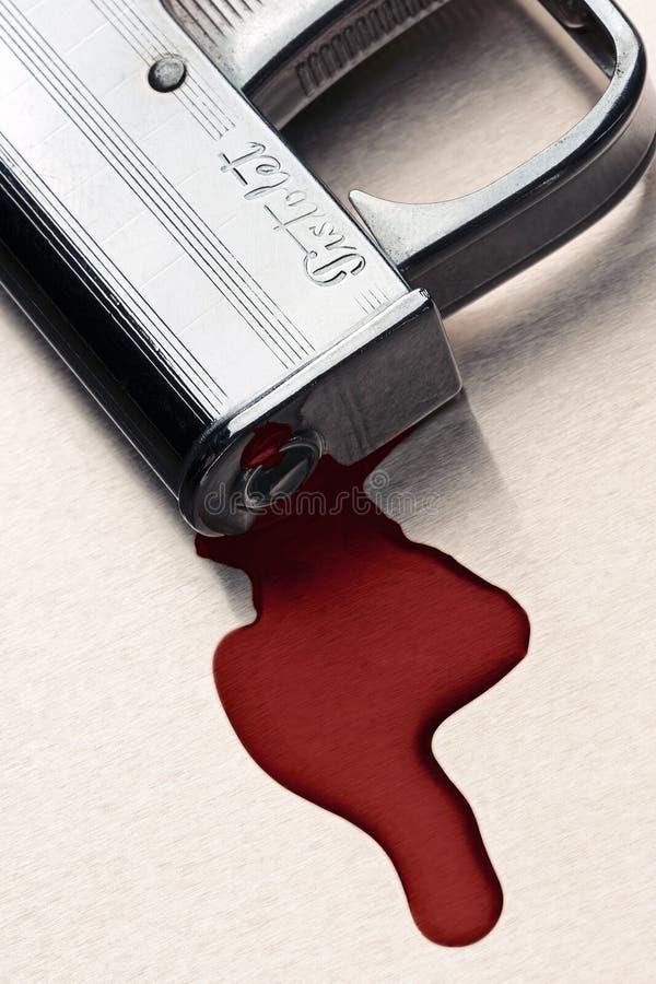 Assassinato foto de stock
