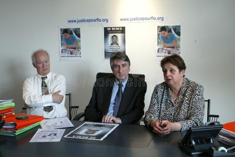 Assassinato de Florença Denefle em Guatemala imagens de stock