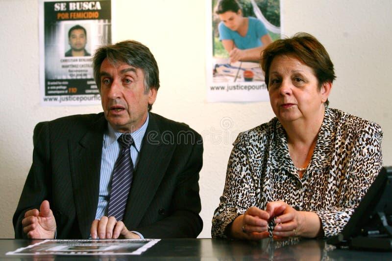 Assassinato de Florença Denefle em Guatemala imagem de stock