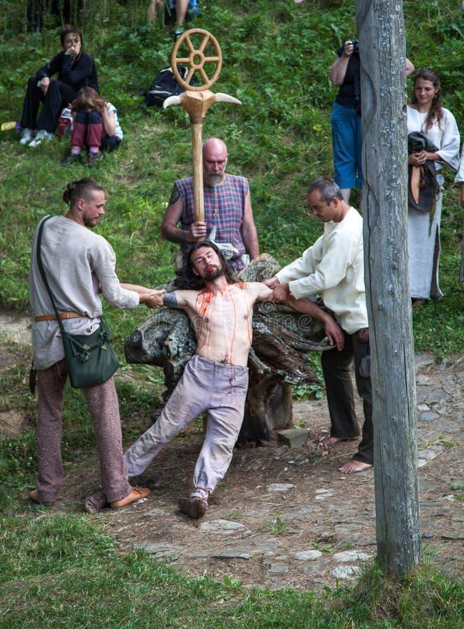 Assassinato ritual imagens de stock royalty free