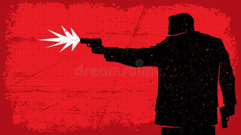 assassino royalty illustrazione gratis