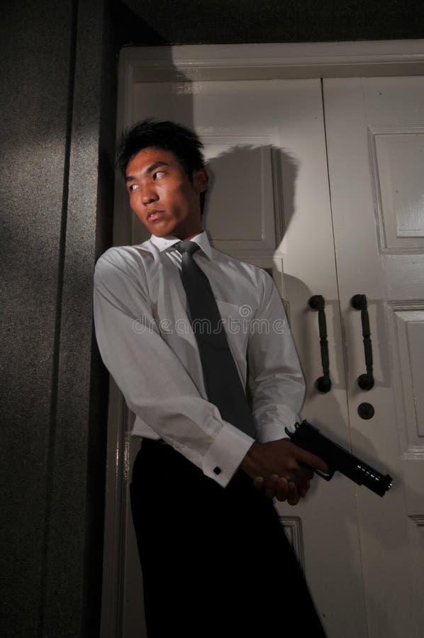 Assassino 8 do agente fotografia de stock royalty free