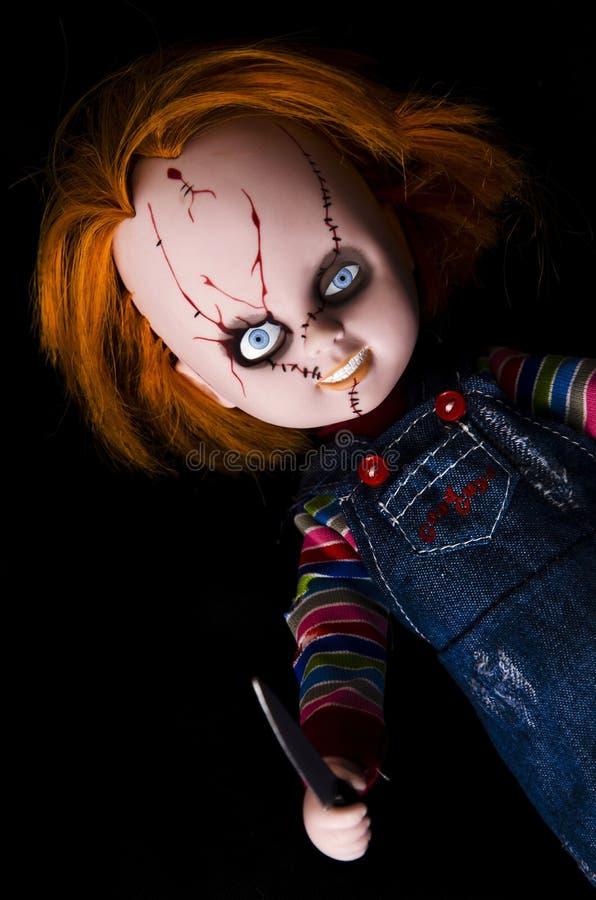 Assassino da boneca imagem de stock