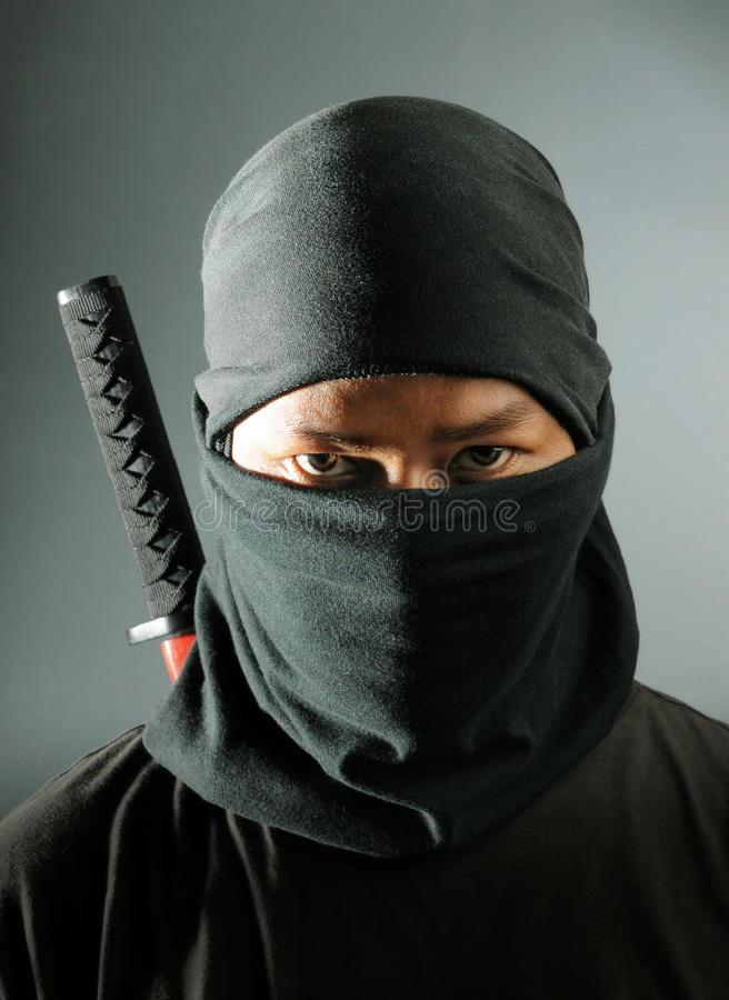 Assassino di Ninja fotografia stock