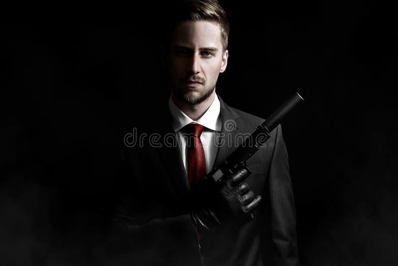Assassino do contrato fotografia de stock royalty free