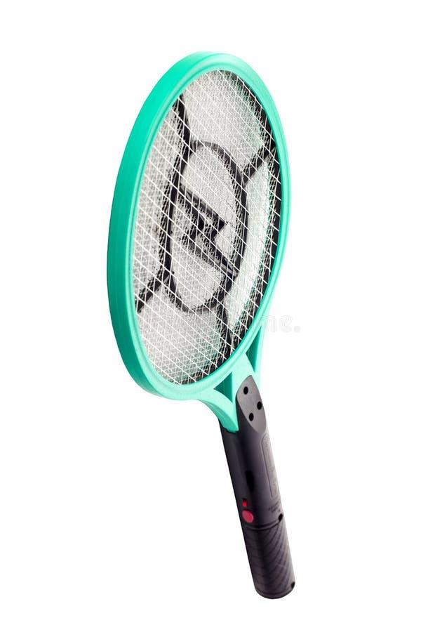 Assassino eletrônico dos mosquitos isolado no isolat branco do fundo imagem de stock royalty free
